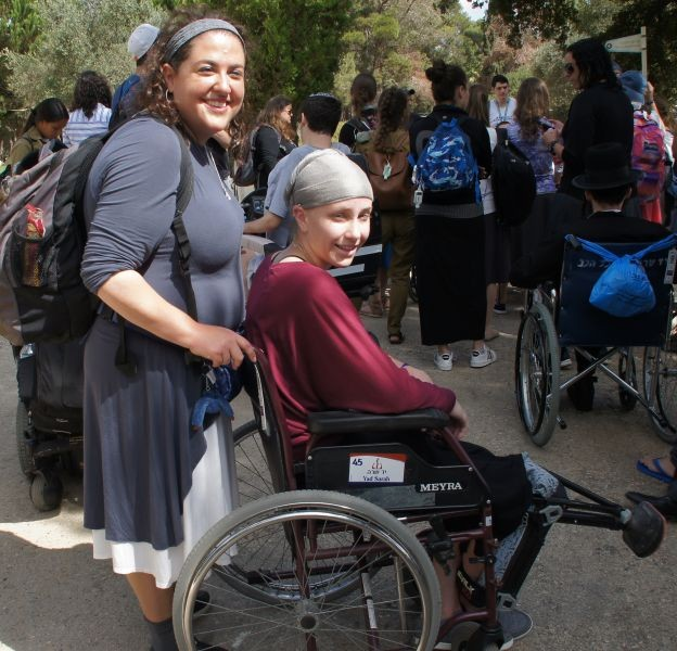 A Taglit-Birthright Israel Tour Like No Other... Because of Yad Sarah