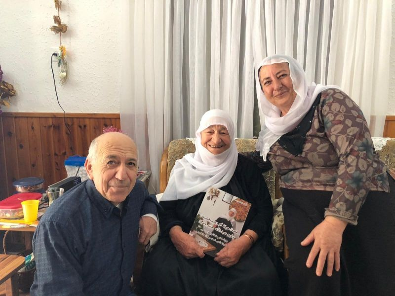 fadila-with-her-son-and-his-wife-while-getting-the-book