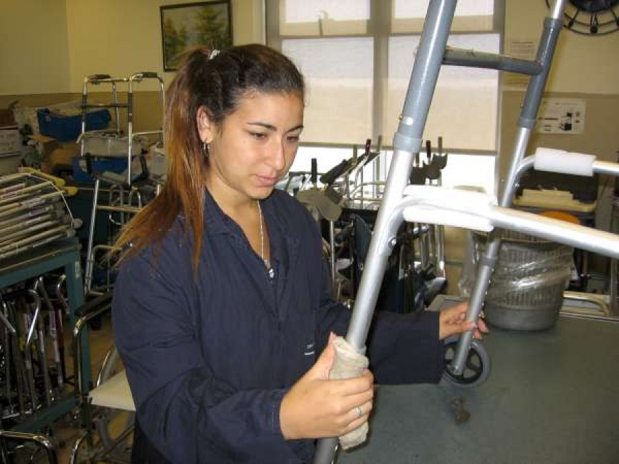Young Adults with Special Needs Learn Practical Skills