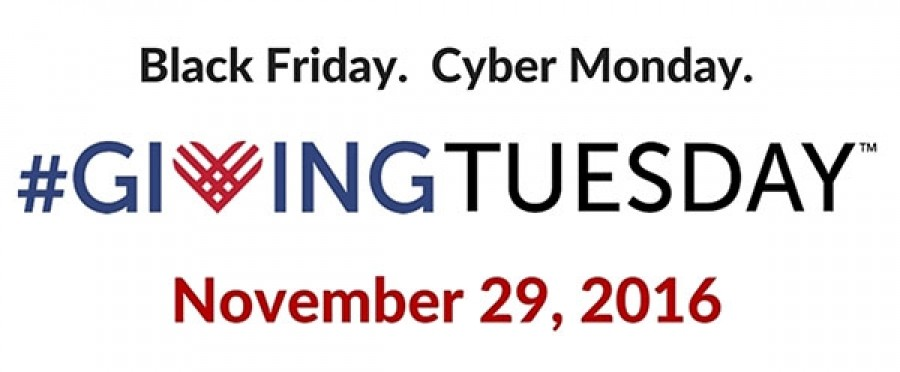 November 29th is Giving Tuesday