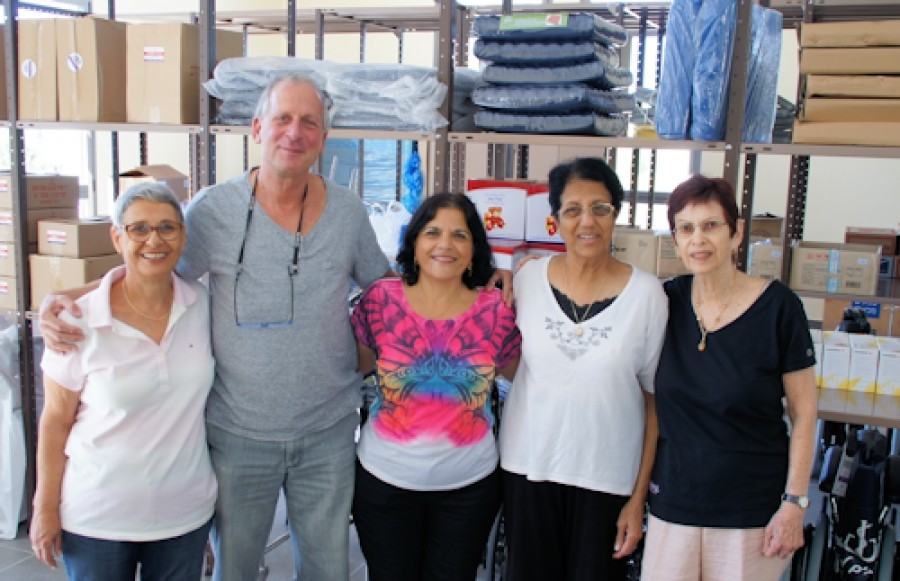 Friends of Yad Sarah USA enables expansion of services in Modiin.